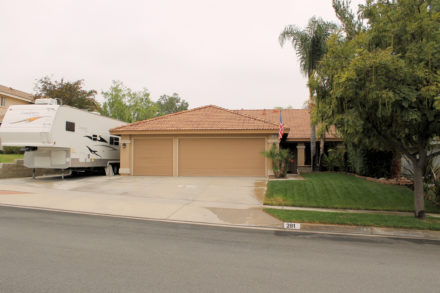 Corona, CA Single Story Homes with RV Parking for Sale